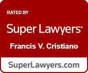 Frank Cristiano Super Lawyers Badge