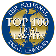 Frank Cristiano Top 100 National Trial Lawyers Seal